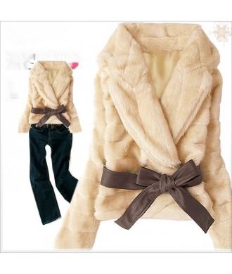 """Полушубок """"Fox Coat"""" (с поясом)"""